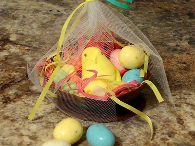 How to make an Edible Easter Basket