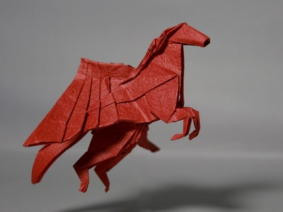 How to make an origami pegasus (Henry Phạm)