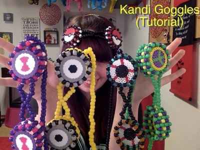 How to make Kandi Goggles (Tutorial)
