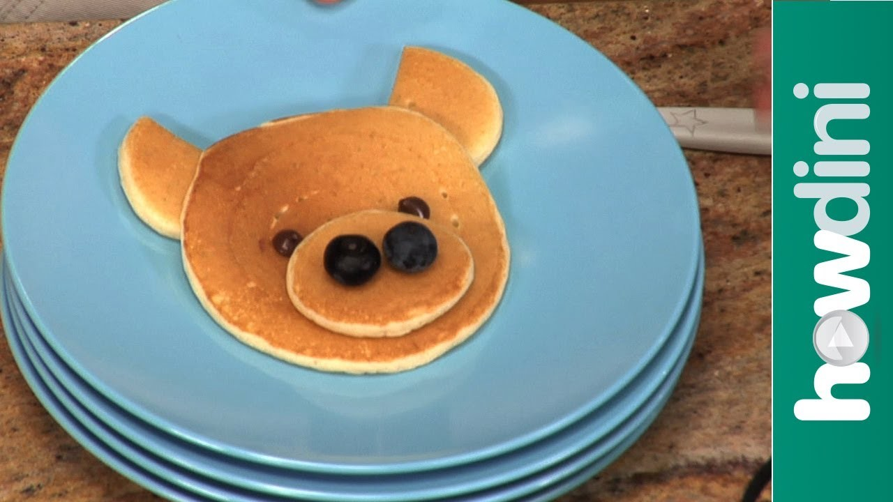 How to Make Pancakes in Fun Shapes for Kids