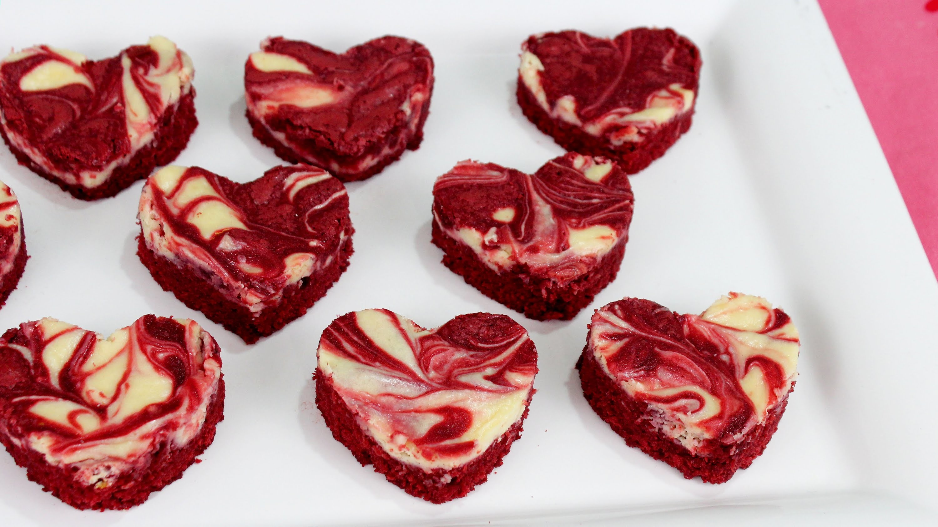 How to Make Red Velvet Cheesecake Brownies!