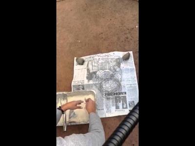 How to paper mâché your chess piece sculpture