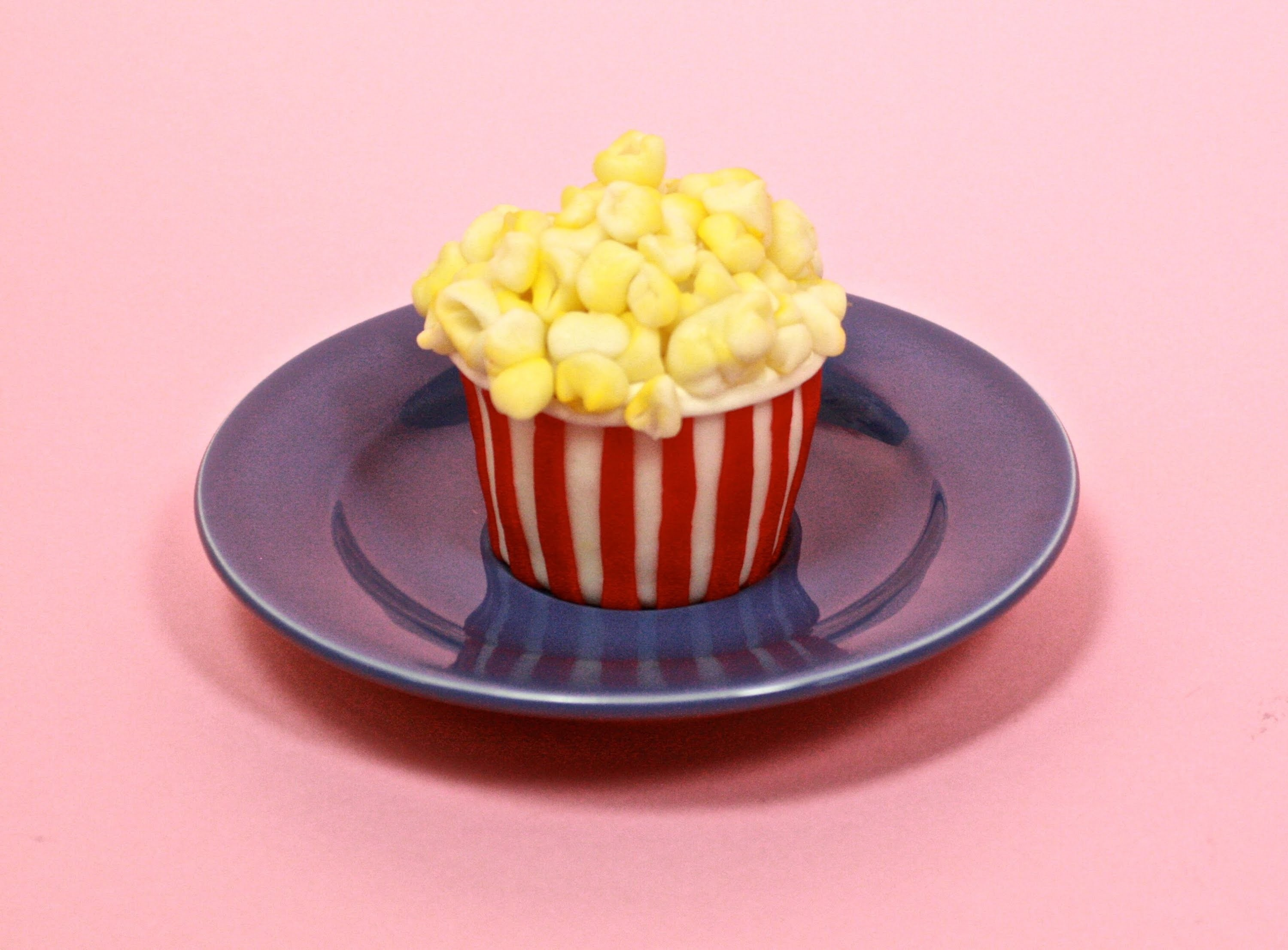 How-to Popcorn Cupcake Collab with SweetAmbs