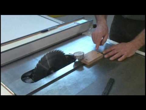 How to Properly Align Your Table Saw and Table Saw Blade