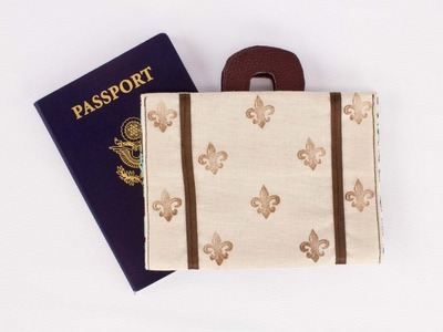 How To Sew A Suitcase Passport Cover
