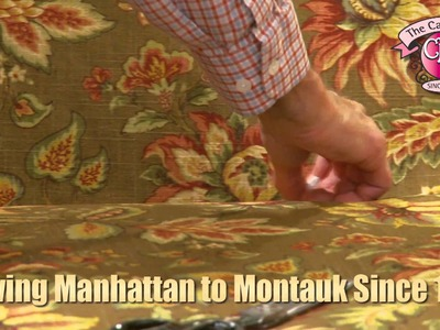How to Slipcover a Sofa