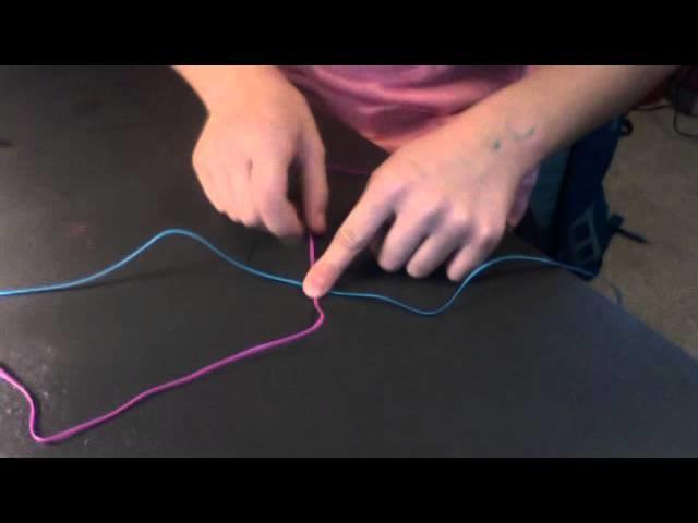 How to start box stitch!!