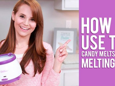 How to Use the Candy Melts Candy Melting Pot | Rosanna Pansino Video Tutorial