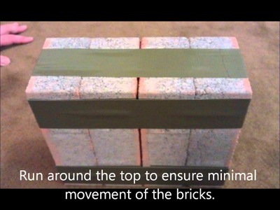 How to wrap bricks for GORUCK