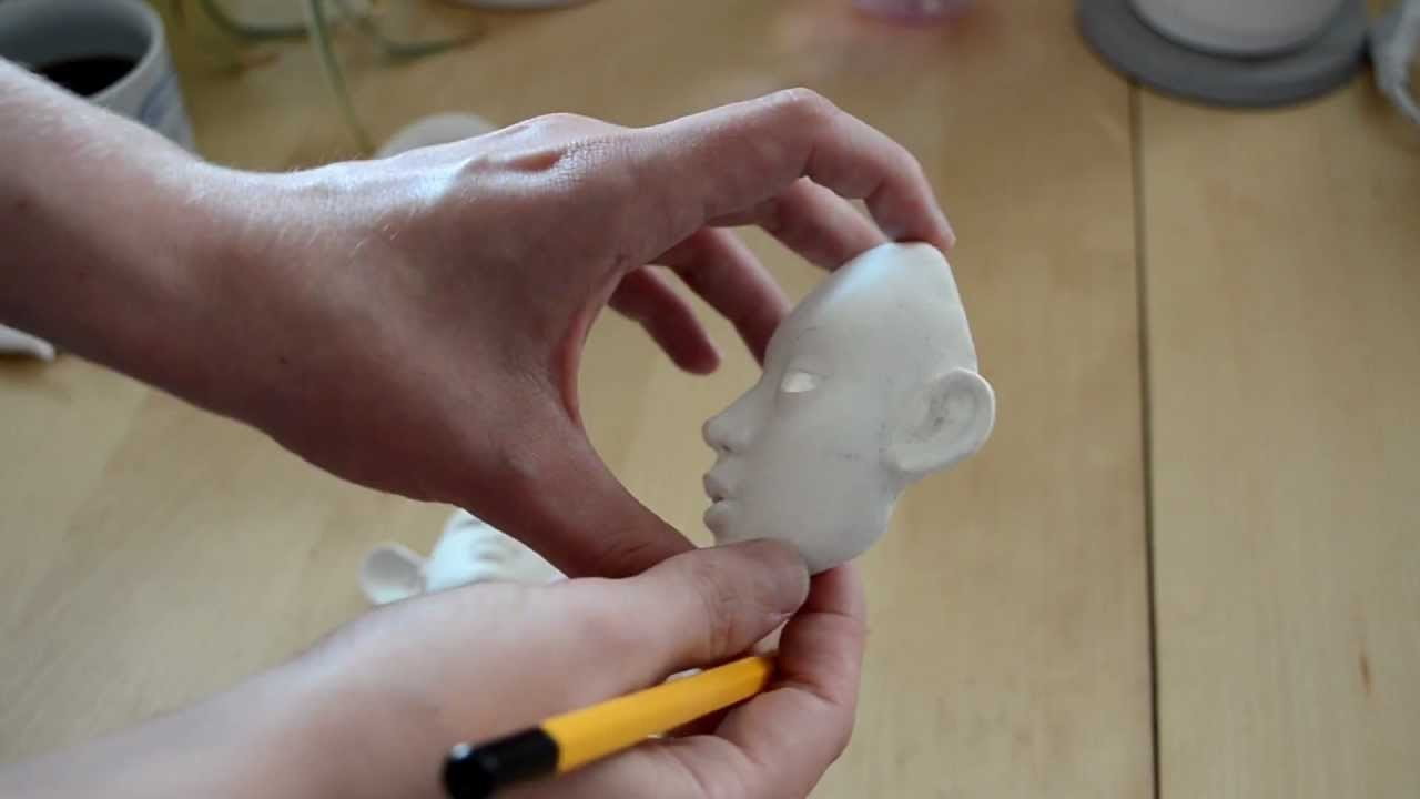 Making my clay BJD part 1.3