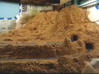 Model Railroad Scenery using Extruded Foam: Part 8 - HQ