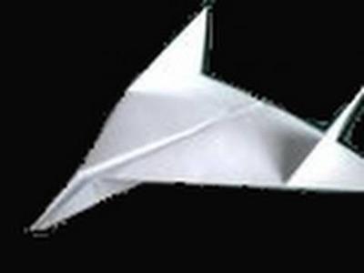 Origami: warplane