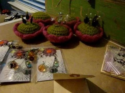 Pin Cushion and a couple of swaps
