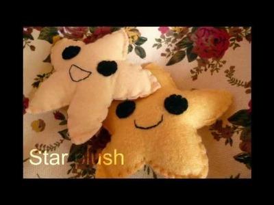 Plush Tutorial - How to Make a cute Star Plushie