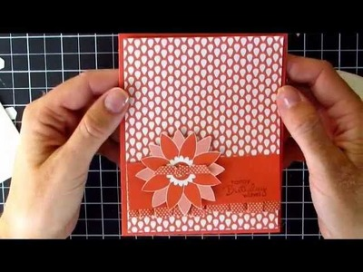 Stampin' Up Berry Blossoms DSP #2