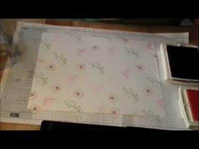 Stampin With Steph Pattern Paper Tutorial