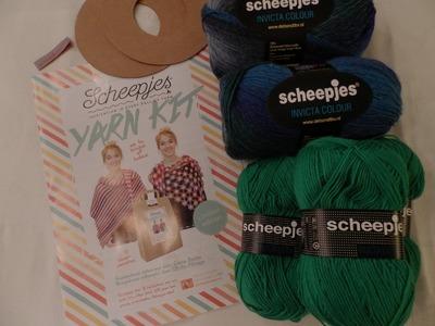 Star Flower Crochet Wrap - ENGLISH
