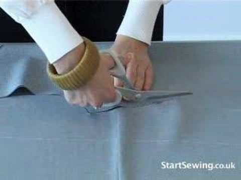 Start Sewing- Marking and Cutting the Fabric