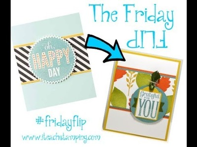The Friday Flip Using Stampin' Up!'s Merry Everything