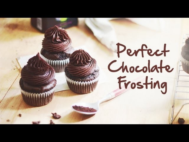 The Perfect Chocolate Frosting