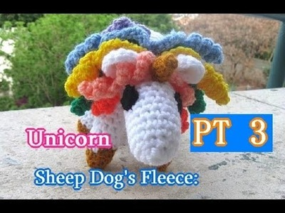Unicorn Amigurumi PT 3 - Left Handed Crochet Tutorial