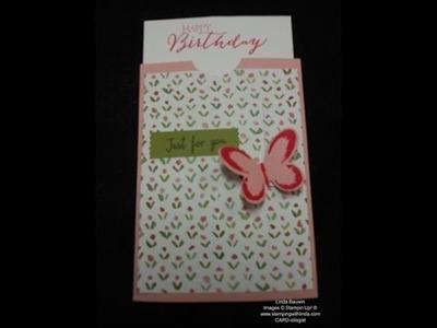 bca06170d Butterfly Slider Card