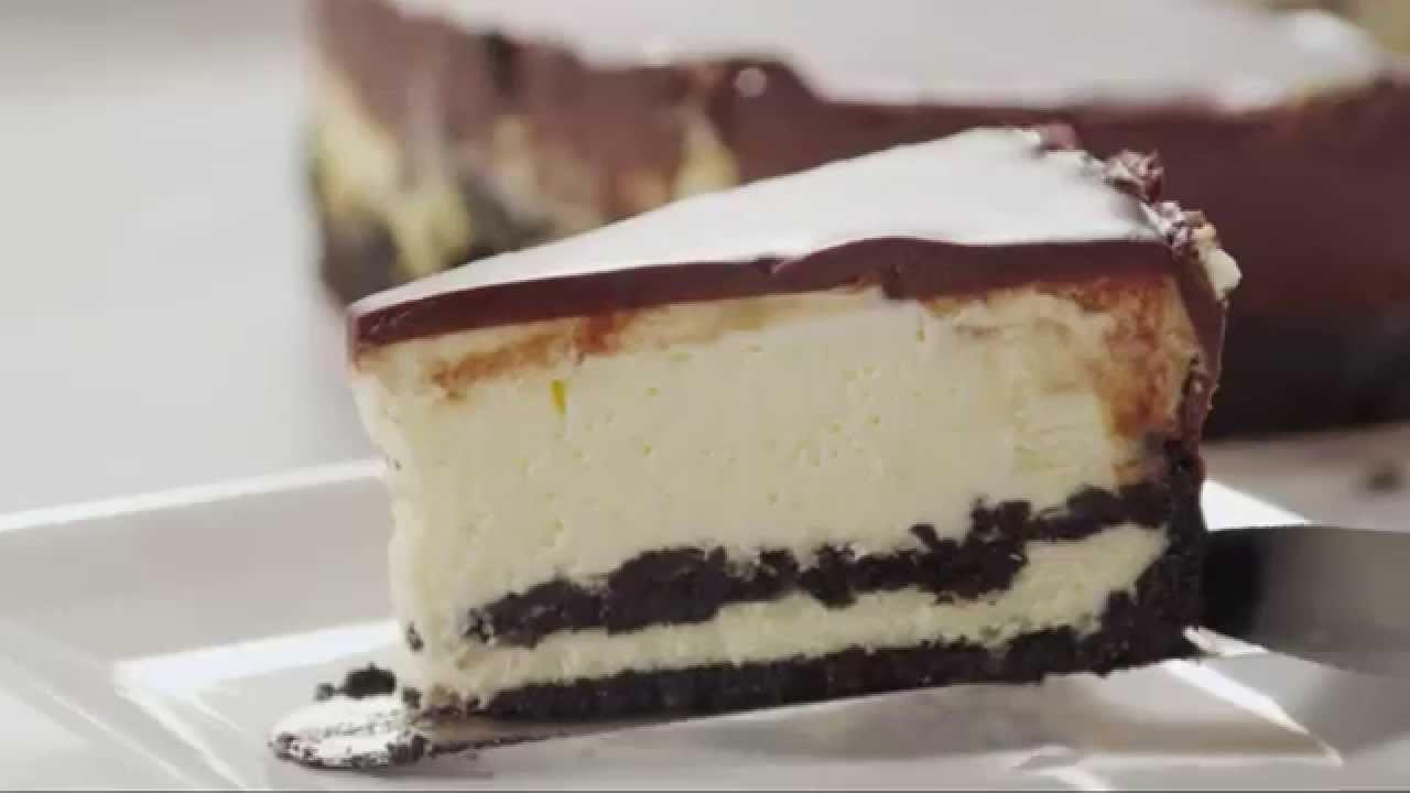 Cake Recipes - How to Make Chocolate Cookie Cheesecake