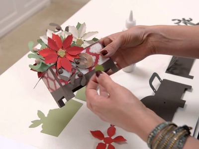 Christmas Box Cards SVG Kit - Assembly Tutorial