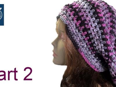 Crochet Slouch Bob Marley Hat Part 2