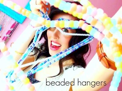 ♥ D.I.Y. ♥ Beaded Hangers!