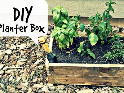 DIY Planter Box | Pallet Wood