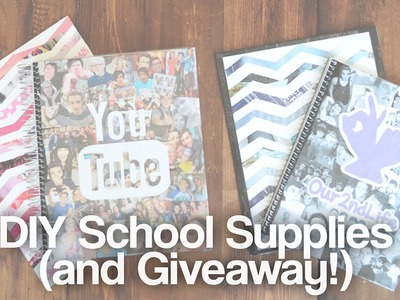 DIY School Supplies and Giveaway!