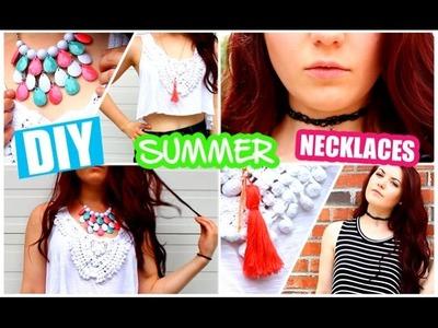 DIY Summer Necklaces! ☀️