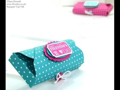 Envelope Punch Board Domed Treat Pouch by Stampin' Up! UK Independent Demonstrator Pootles