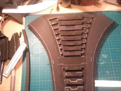EVA Foam armour Tutorial Mass Effect N7 Armour back piece