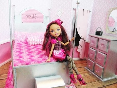 Ever After High Briar Beauty Bedroom Tutorial