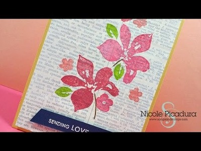 Gesso + Stamping - Start-To-Finish #31