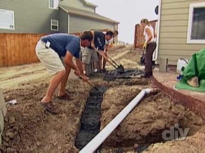 How To Build an Outdoor Fireplace - DIY Network