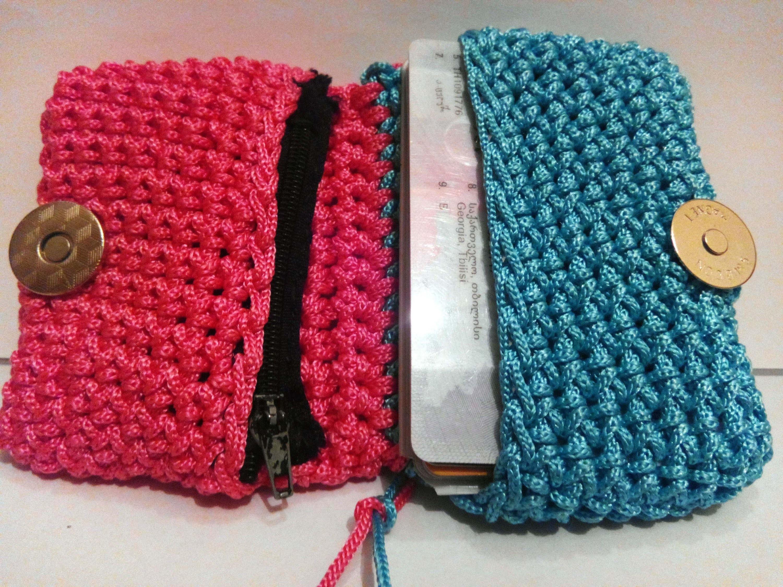 How to crochet wallet