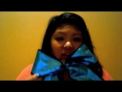 How To Make A Cheerleading Bow and Tips