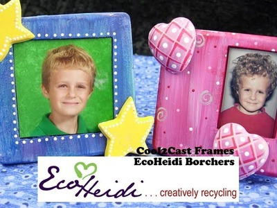 How to Make a Cool2Cast Frame from Blister Packaging by EcoHeidi Borchers