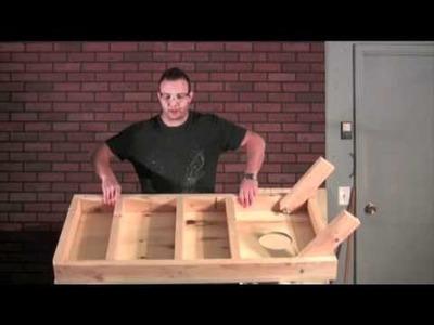 How to make a Cornhole Board Part 2