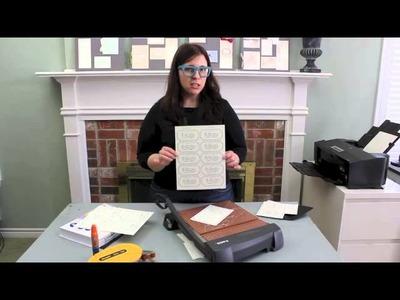 How to Make a DIY Vintage Type Wedding Invitation