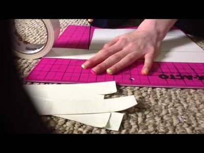 How to make a folding duct tape clutch