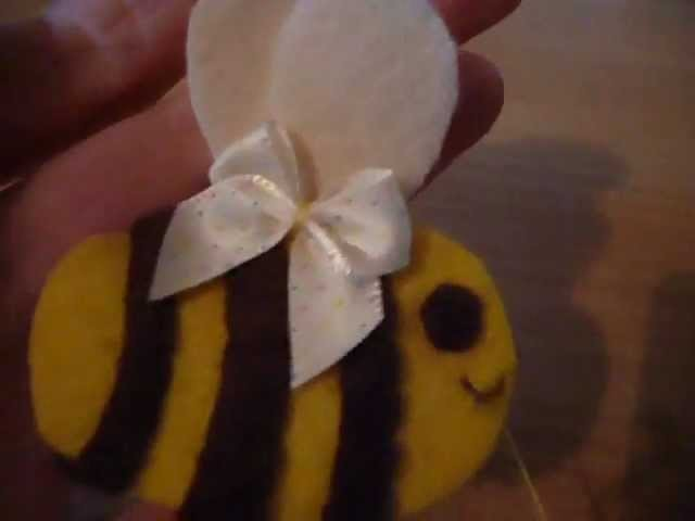 How to Make a Kawaii Bumble Bee Plushie