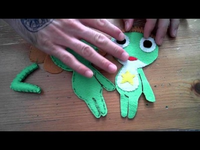 How to make a Sgt. Frog plush tutorial