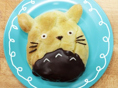 How to Make Totoro Cream Puffs!