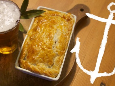 How to make Wagyu Beef and Beer Pot Pie Bondi Harvest