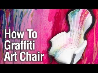 How To Paint a Graffiti Art Chair