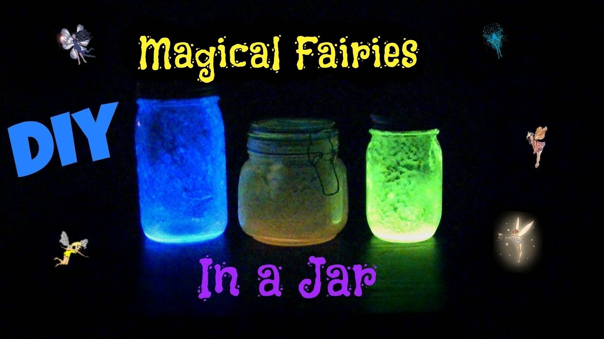 Magical Fairies in a Jar!